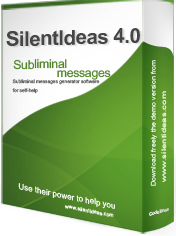 Subliminal messages software for self-help